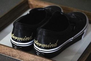 7a1fa610e5d4c5 Mastermind JAPAN x Vans Slip-Ons  Here s How to Cop