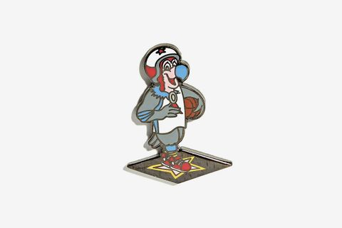 Clippers Mascot Pin