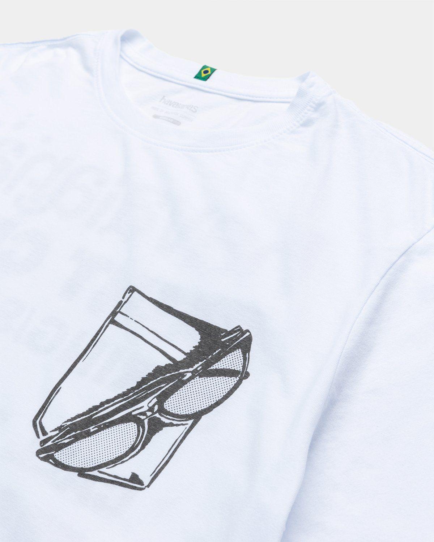 Havaianas x Reality to Idea by Joshuas Vides – T-Shirt White - Image 3