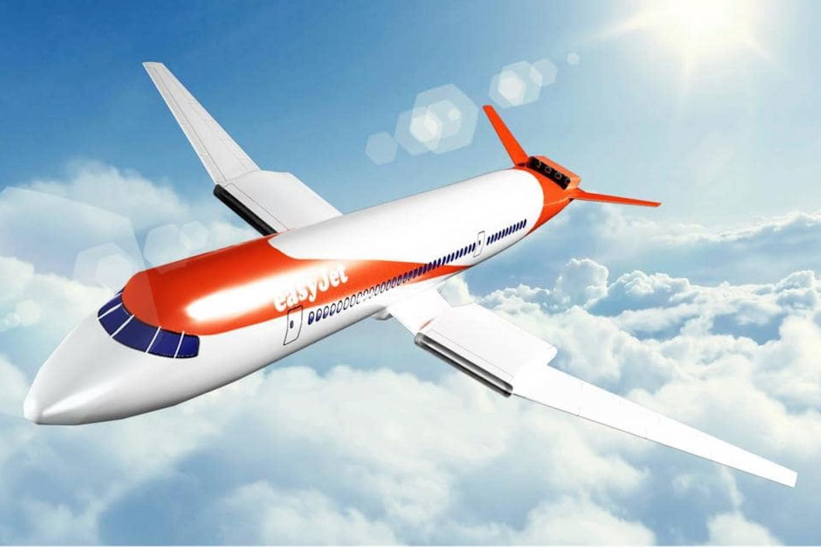 easyjet electric plane concept Wright Electric