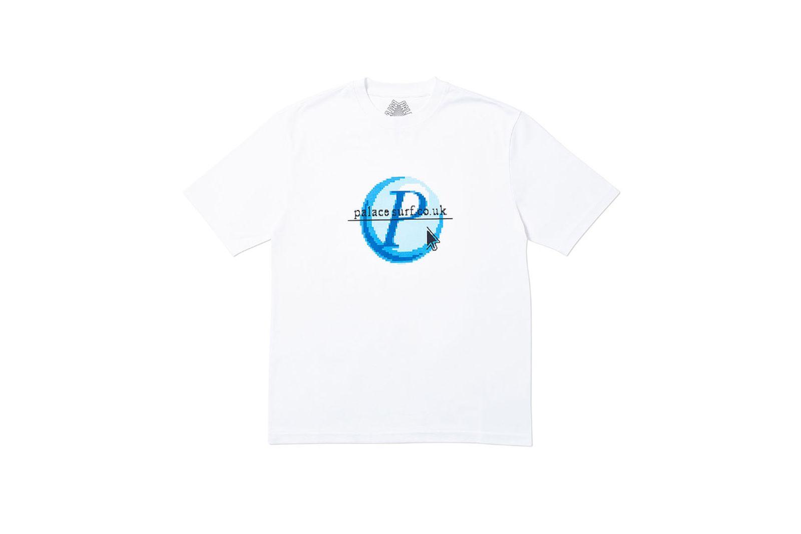 Palace 2019 Autumn T Shirt Log On white