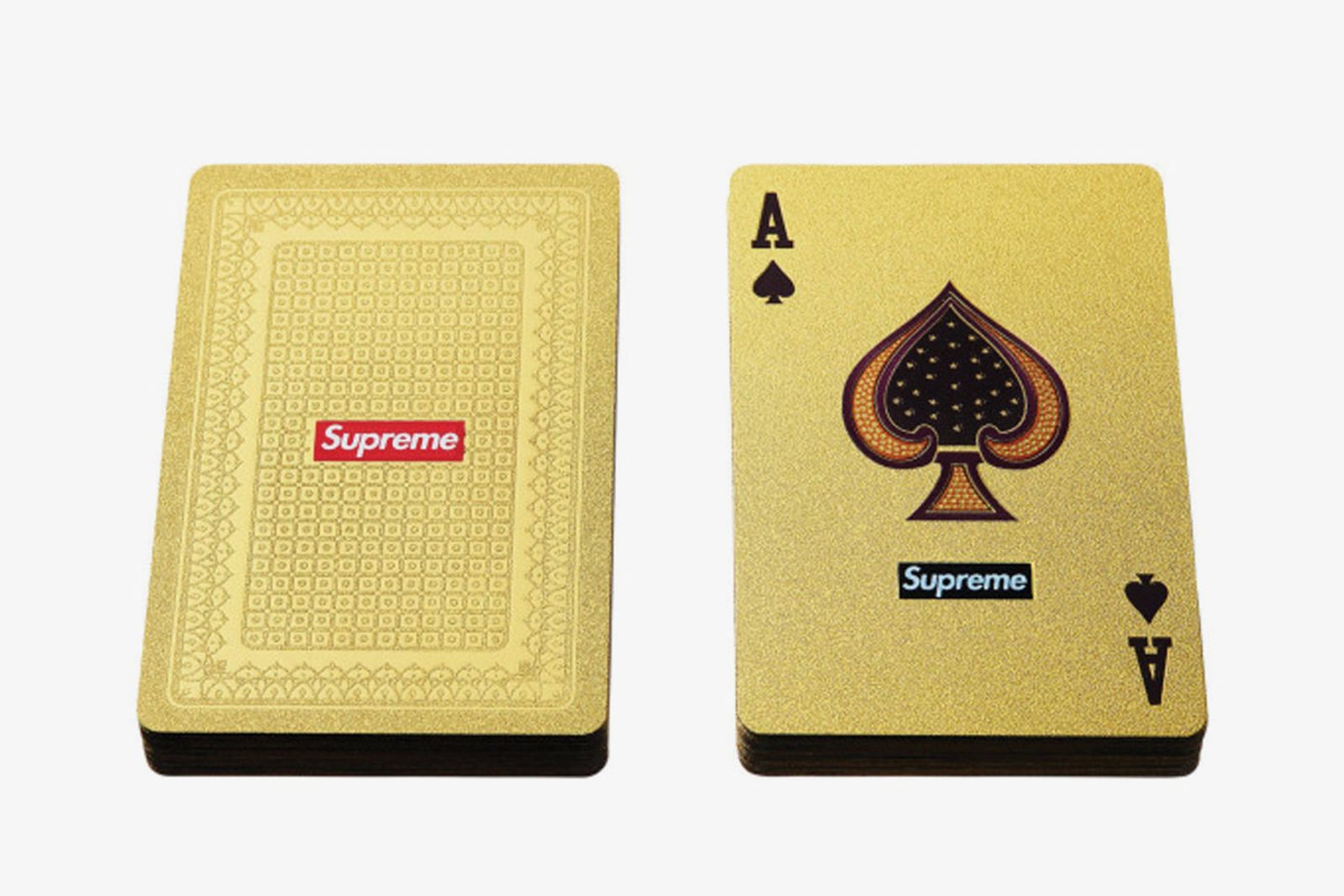 supreme accessories playing cards