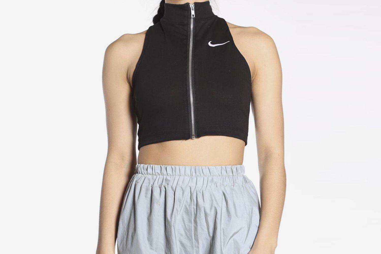 Reworked Nike Cropped Tank Top