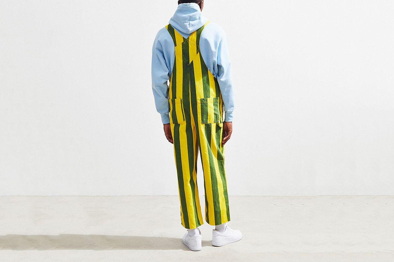 Striped Overalls