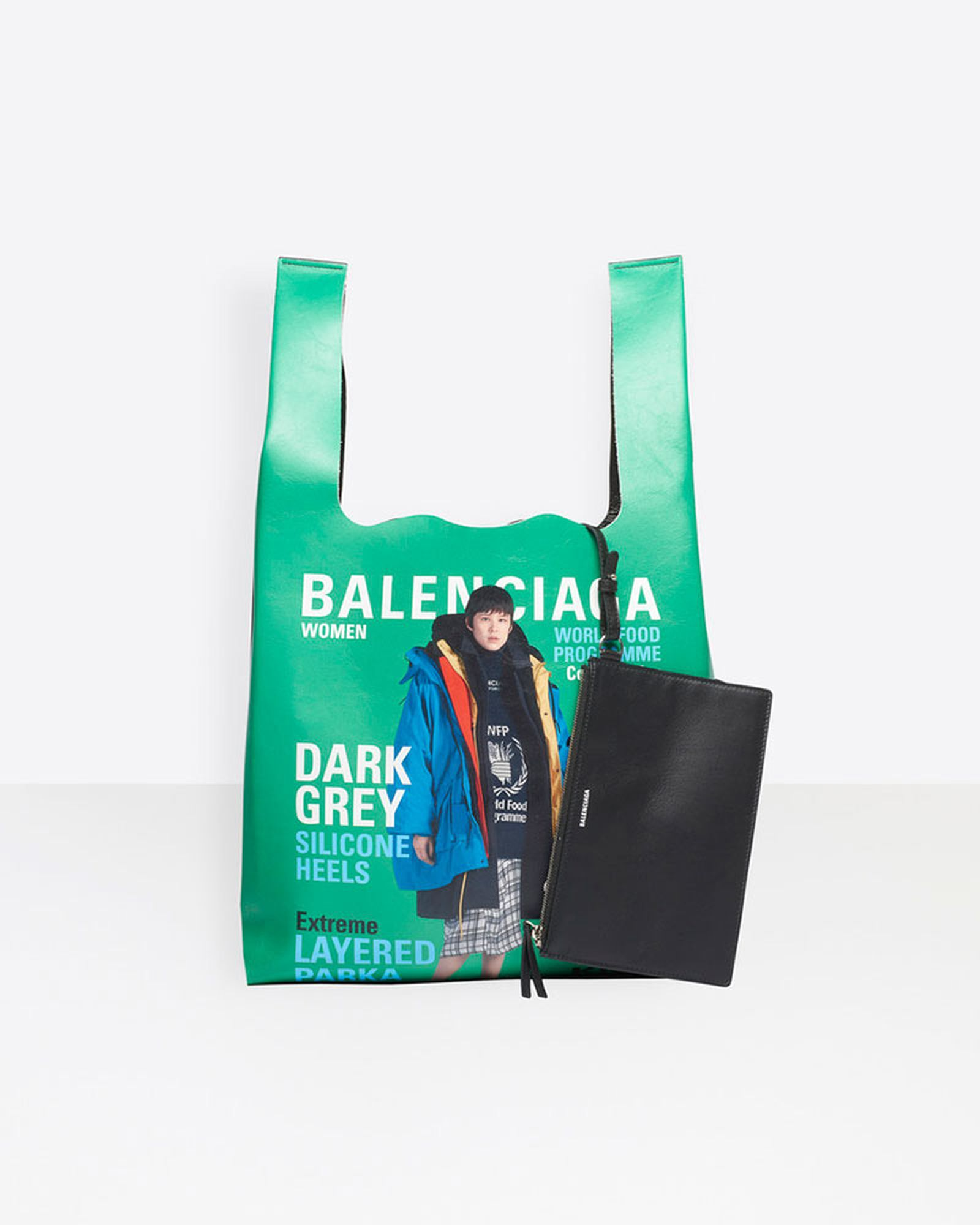 balenciaga winter 2018 supermarket tote