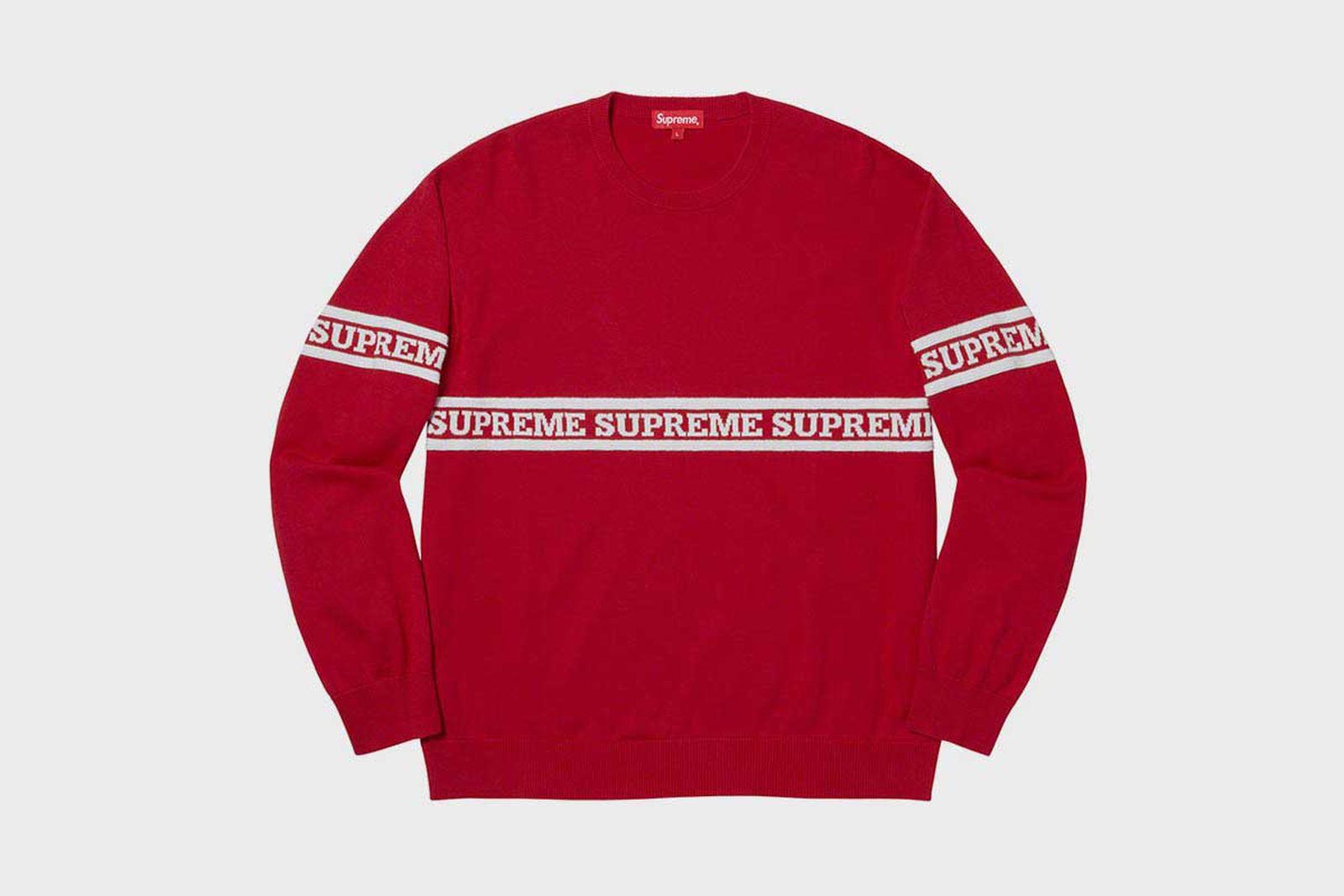 supreme fall winter 2019 tops fw19