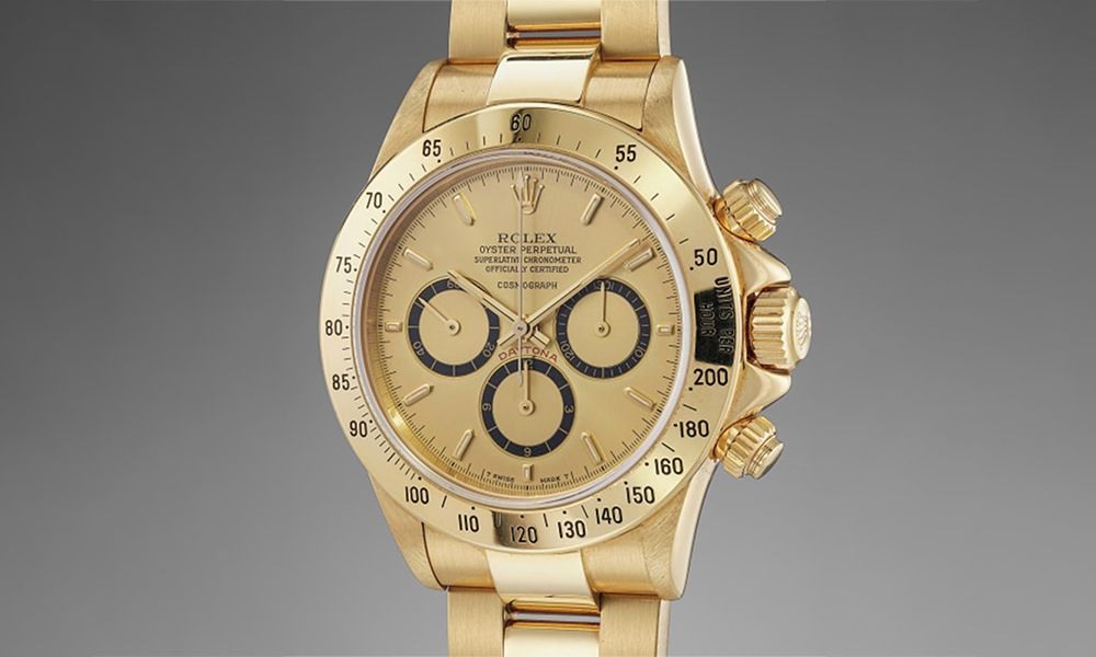 This Rare Rolex Daytona Up for Auction Is a Formula One Fan's Dream
