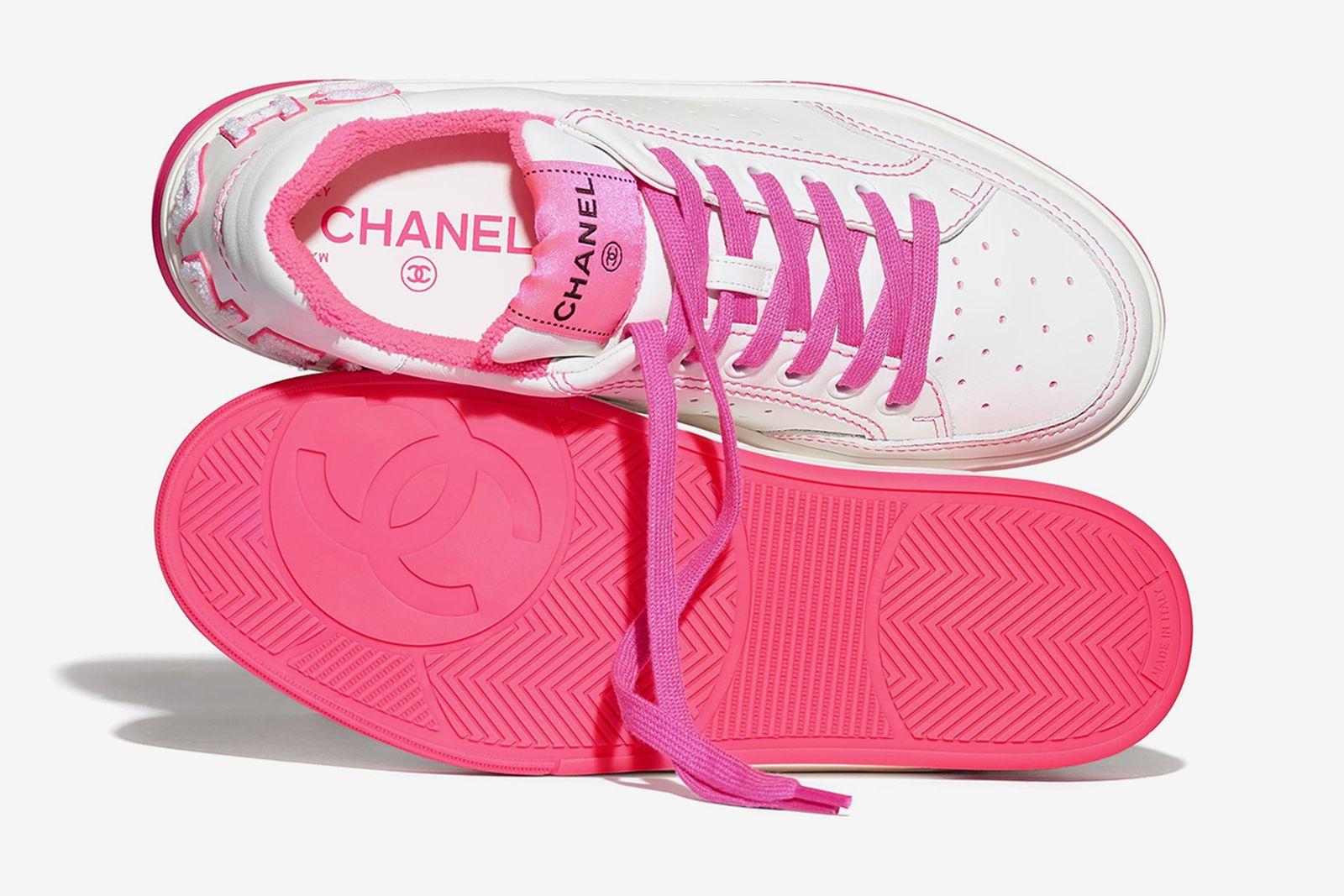 Chanel Calfskin Sneakers