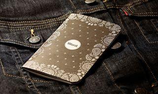 Mini Bandana-Inspired Notebooks by Word.