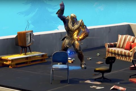 Dancing Thanos From 'Fortnite': Best Memes