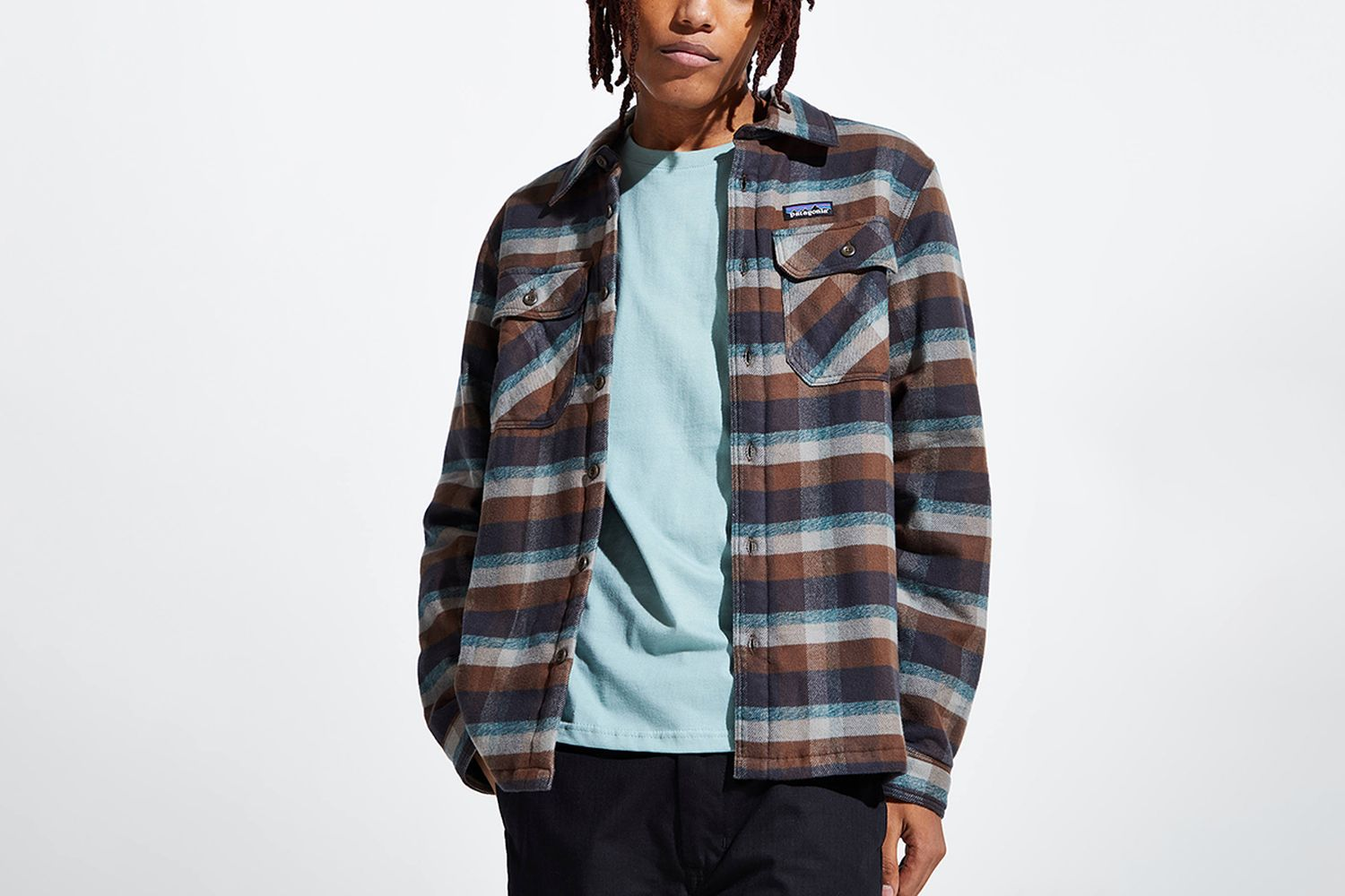 Insulated Fjord Flannel Button-Down Shirt
