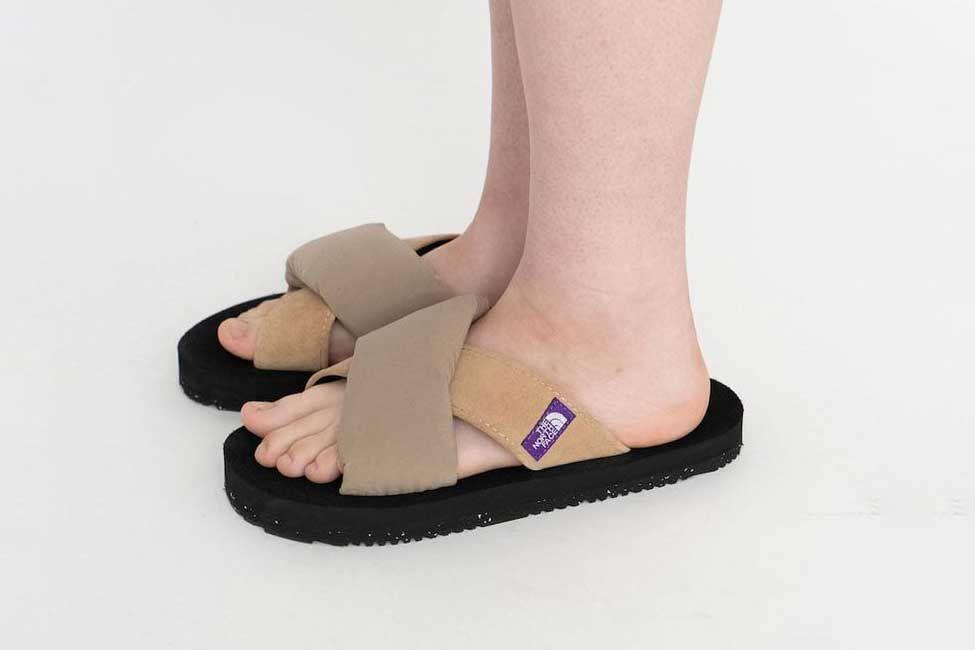 TNF Purple Label Nuptse Sandals Make All Other Sandals Irrelevant 3