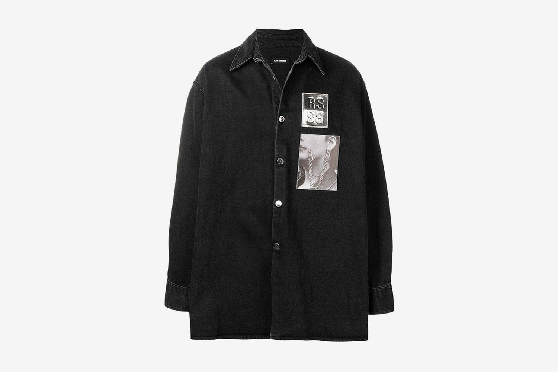 Oversized Shirt Jacket