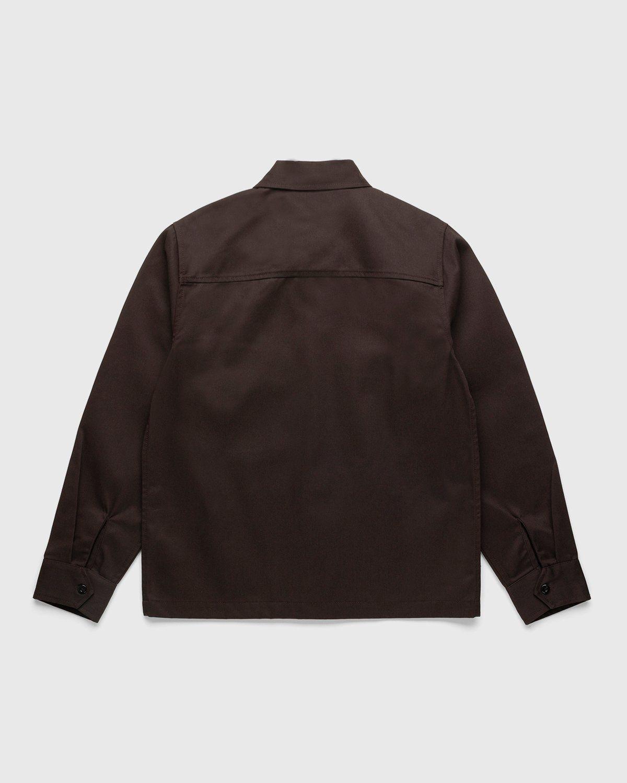 Highsnobiety x Dickies – Service Shirt Dark Brown - Image 2
