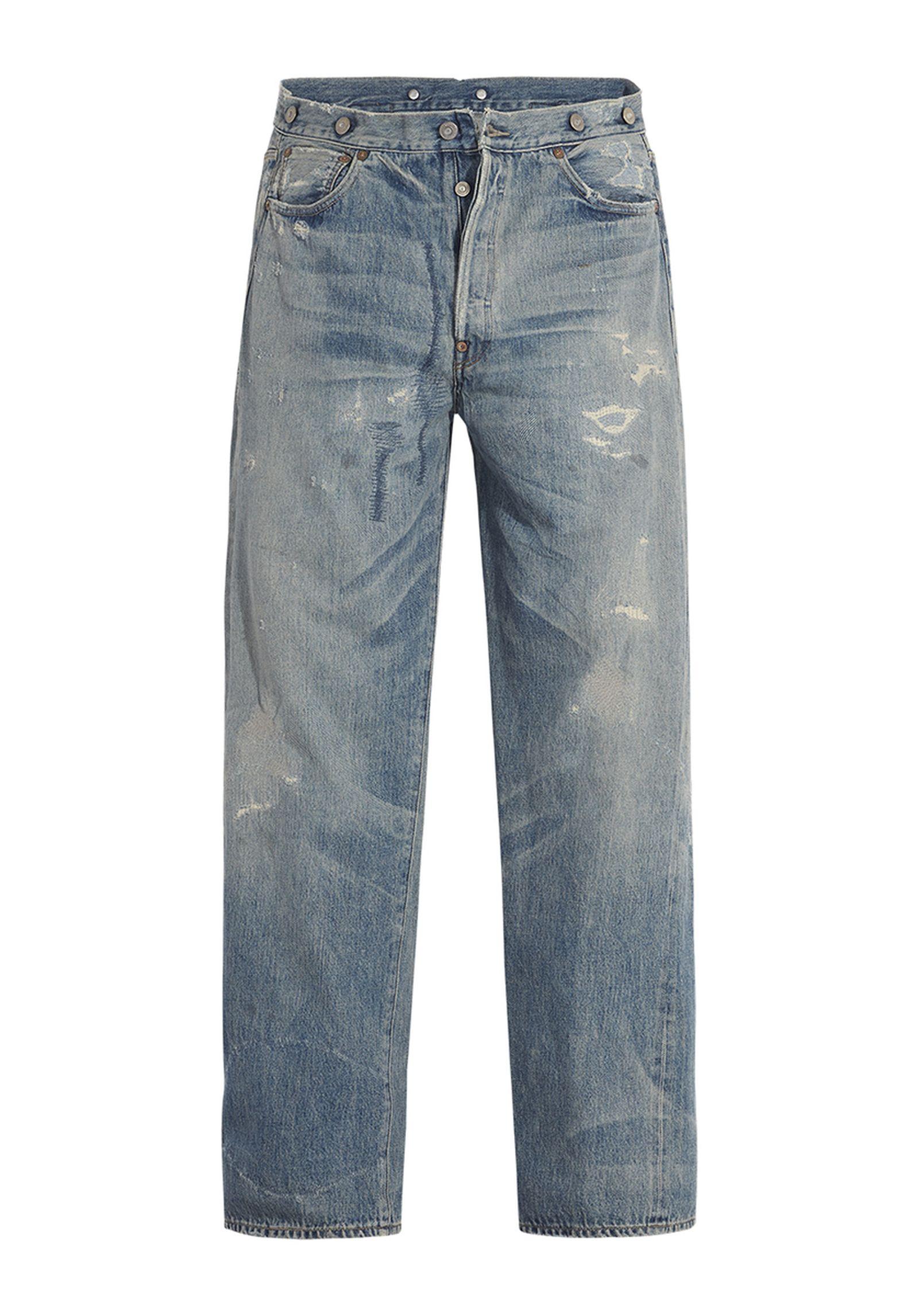 nigo levis japan jacket jeans collaboration