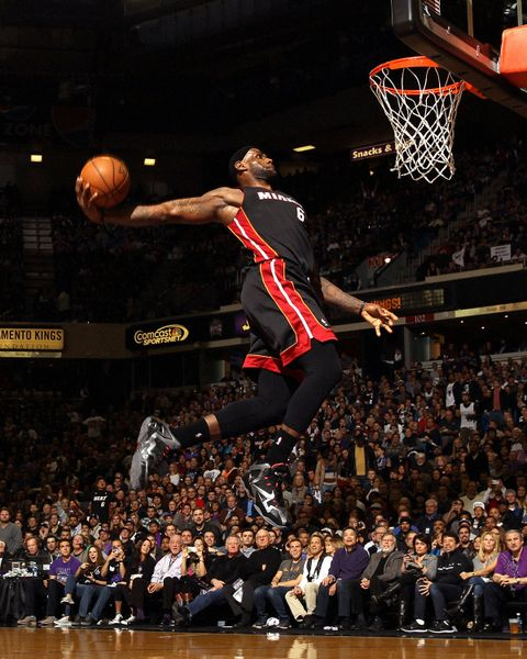Lebron James on-court sneakers