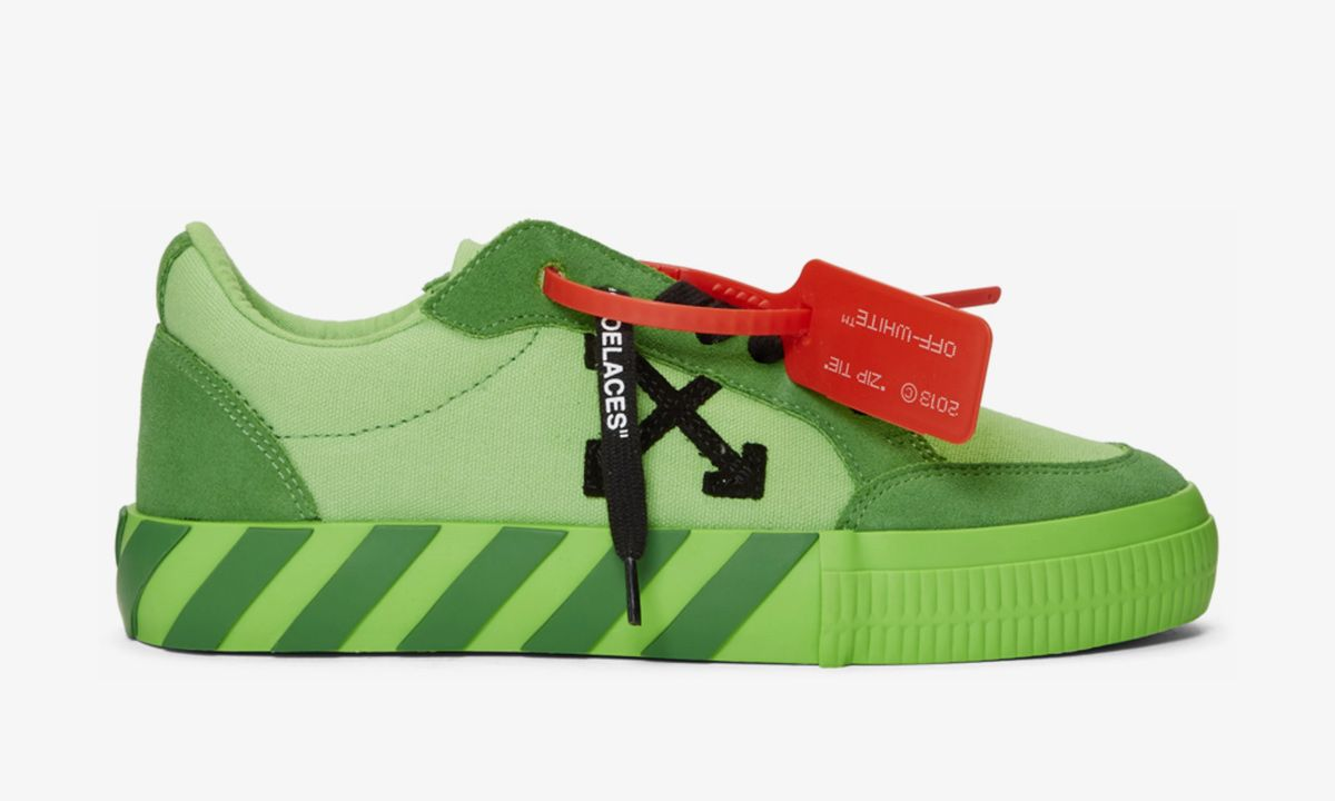 Off-White™'s Vulcanized Sneakers Drop in Bold Neon Hues