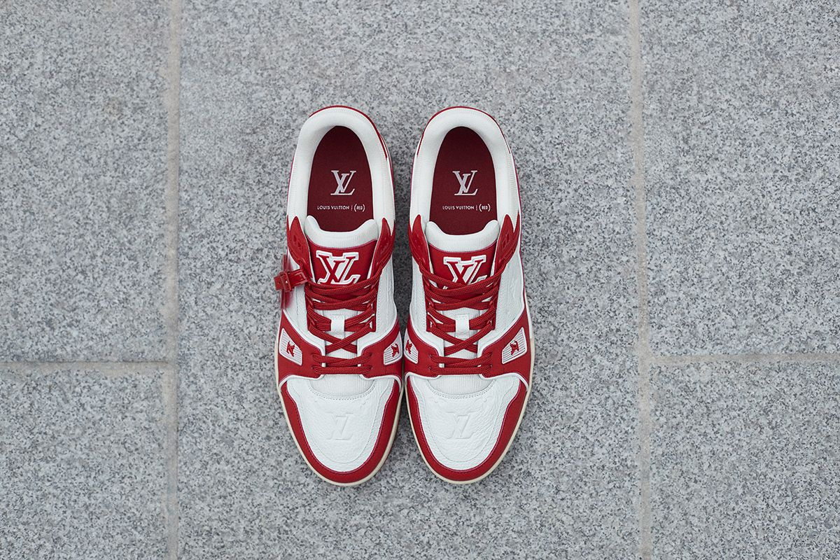 Louis Vuitton Joins the Fight to End AIDS With (RED) LV Trainer 12