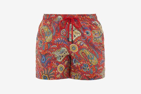 Technical-Twill Swim Shorts