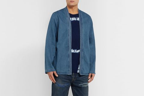 Cotton-Chambray Jacket