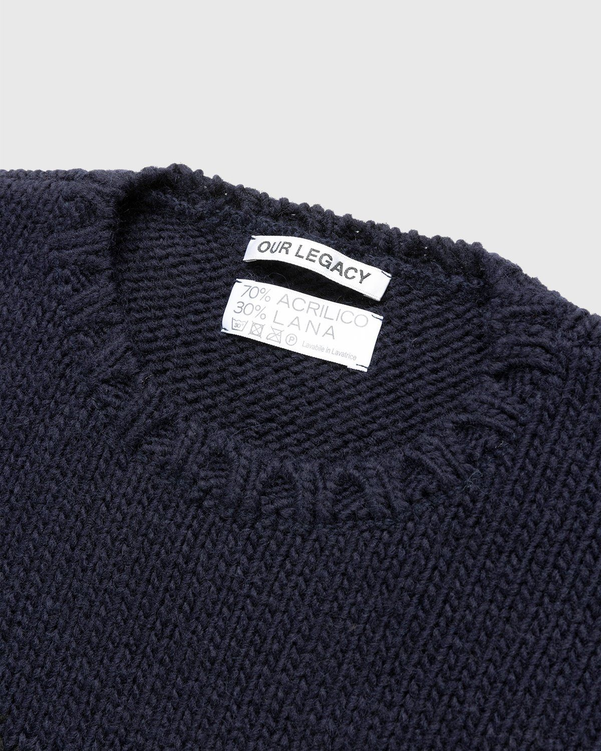 Our Legacy – Popover Roundneck Lucky Lover Black - Image 3