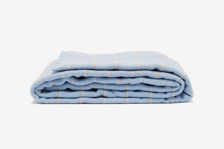 Tartan Large Merino-Wool Blanket