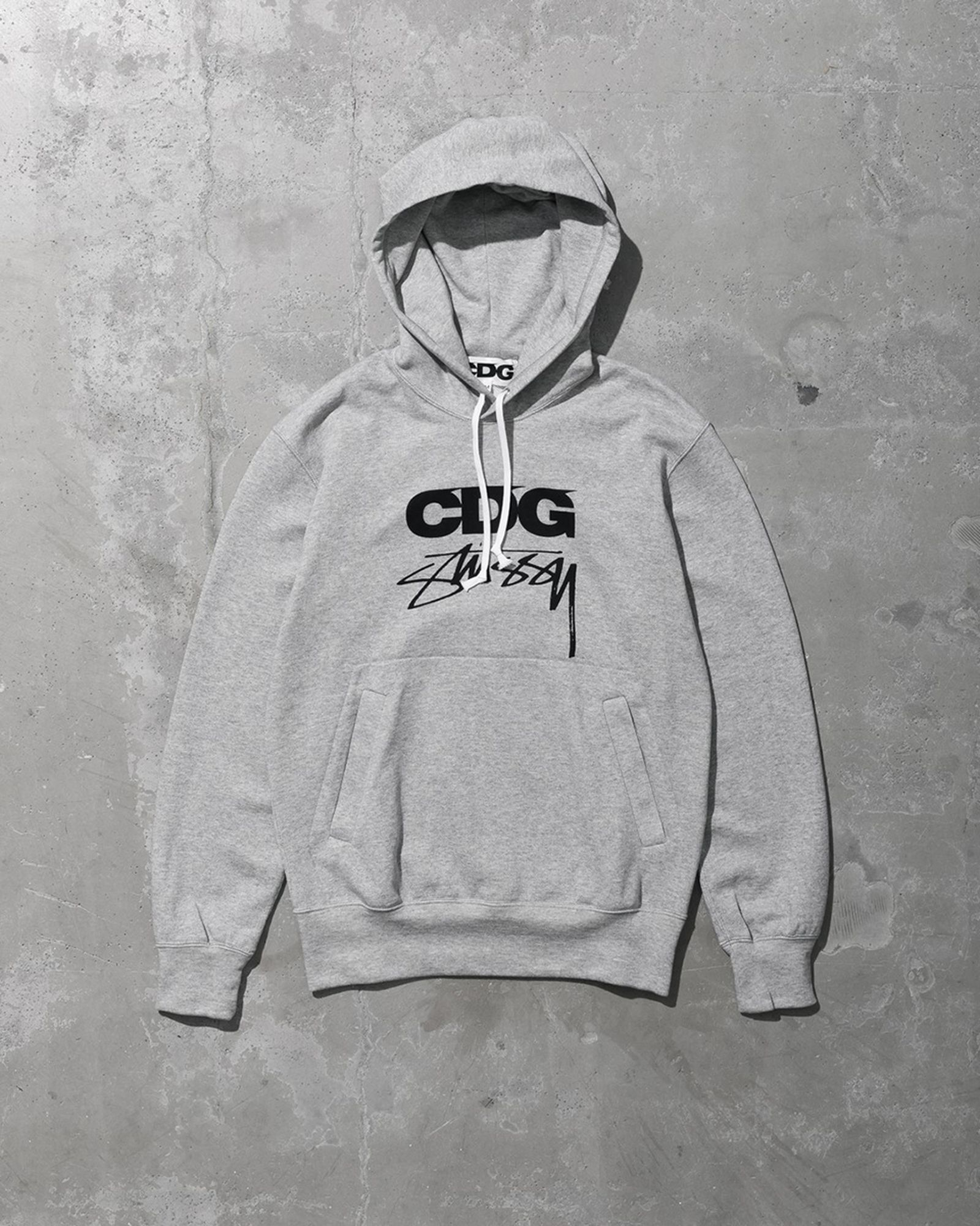 stussy cdg comme des garcons collaboration collection release date info buy hoodie coaches jacket tee shirt fw21 fall winter 2021 buy price