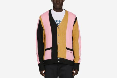 Striped The Droogs Cardigan