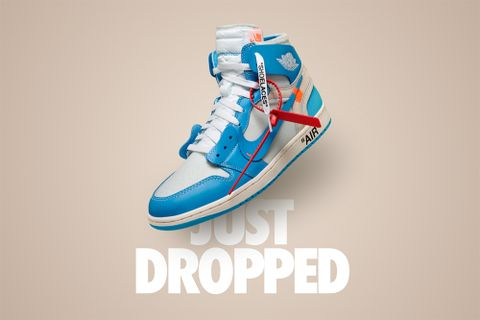 "b9f8ba23dc6c Nike is Sending Exclusive Invites to Cop Virgil Abloh s Air Jordan 1 ""UNC"""