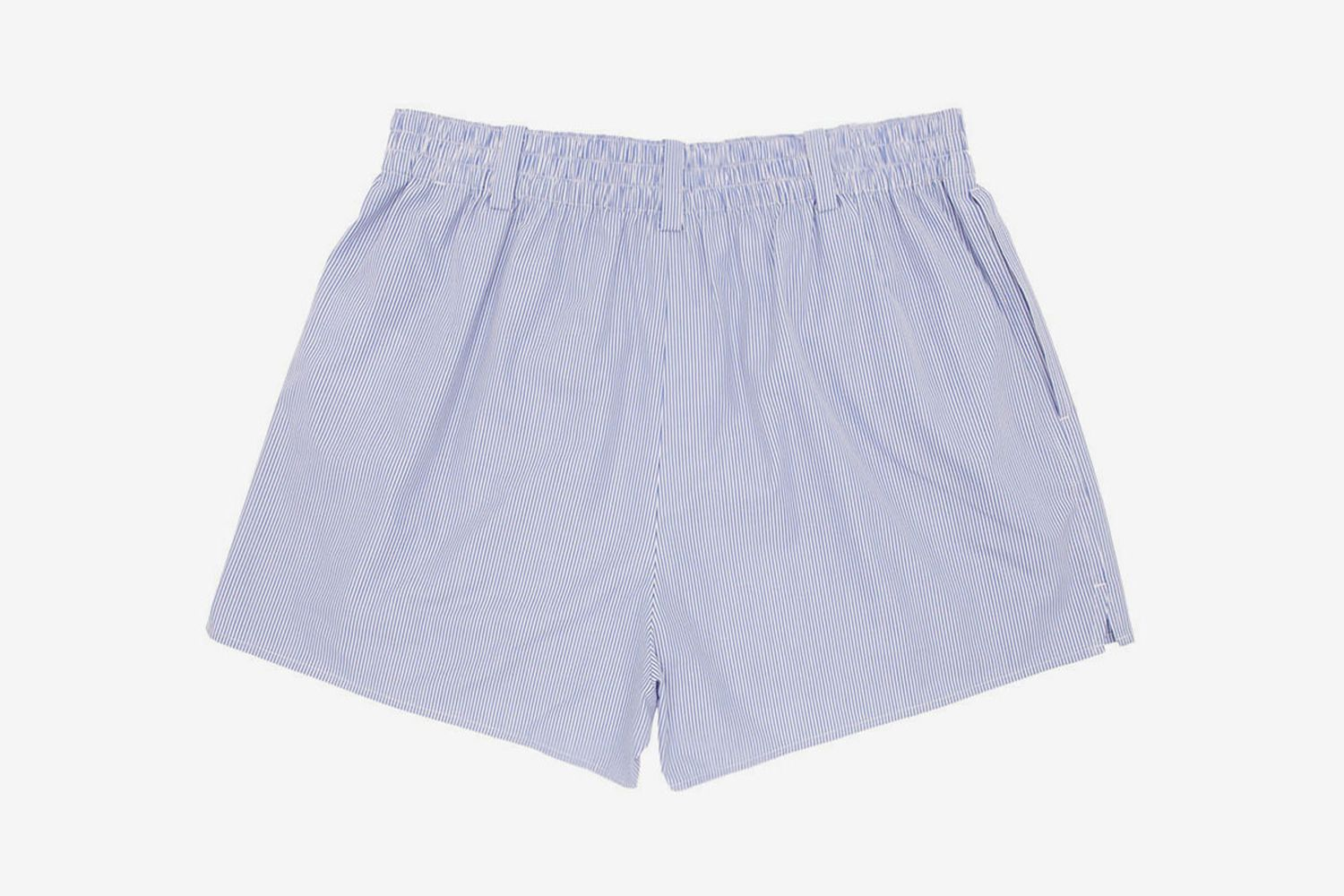 Striped Shirting Boxer Shorts