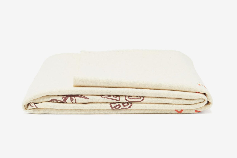 Logo-Print Wool Blanket