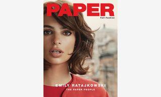 Emily Ratajkowski Covers 'PAPER' Magazine's Fall Fashion Issue