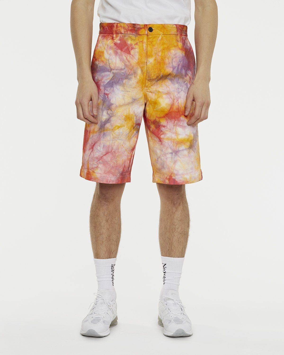 Aries - Tie Dye Chino Shorts Multicolor - Image 3