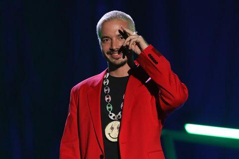 J Balvin attends the 2020 Spotify Awards