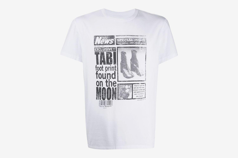 Journal Print T-shirt