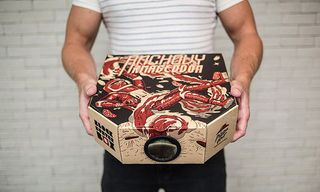 Eat Pizza and Watch a Movie With the DIY Pizza Hut Movie Projector