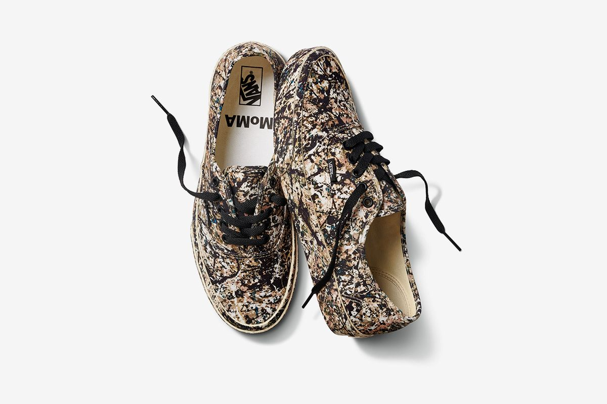 Vans x MoMA Round Two Spotlights Jackson Pollock, Edvard Munch & More 15
