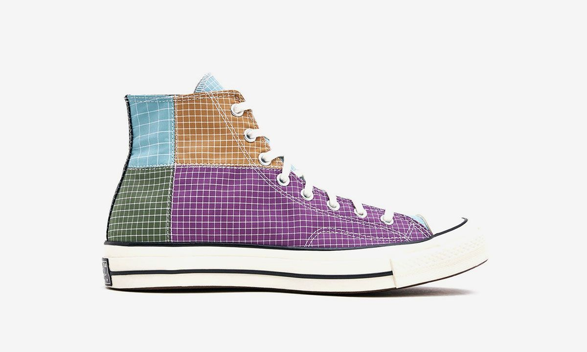 Converse Gives a Lesson in Colorblocking with the Chuck 70 in Patchwork Ripstop