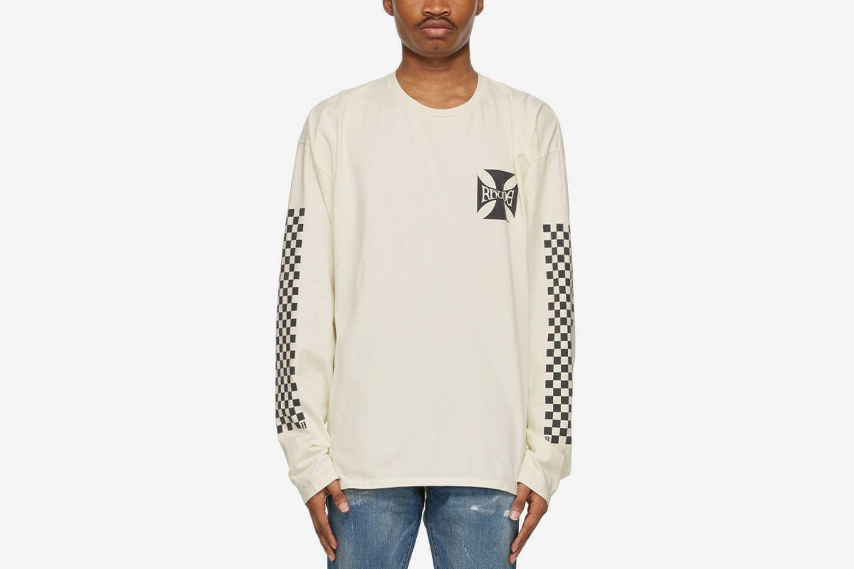 Classic Checkers Long Sleeve T-Shirt