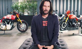 Watch Keanu Reeves Nerd Out Over His Incredible Motorcycle Collection