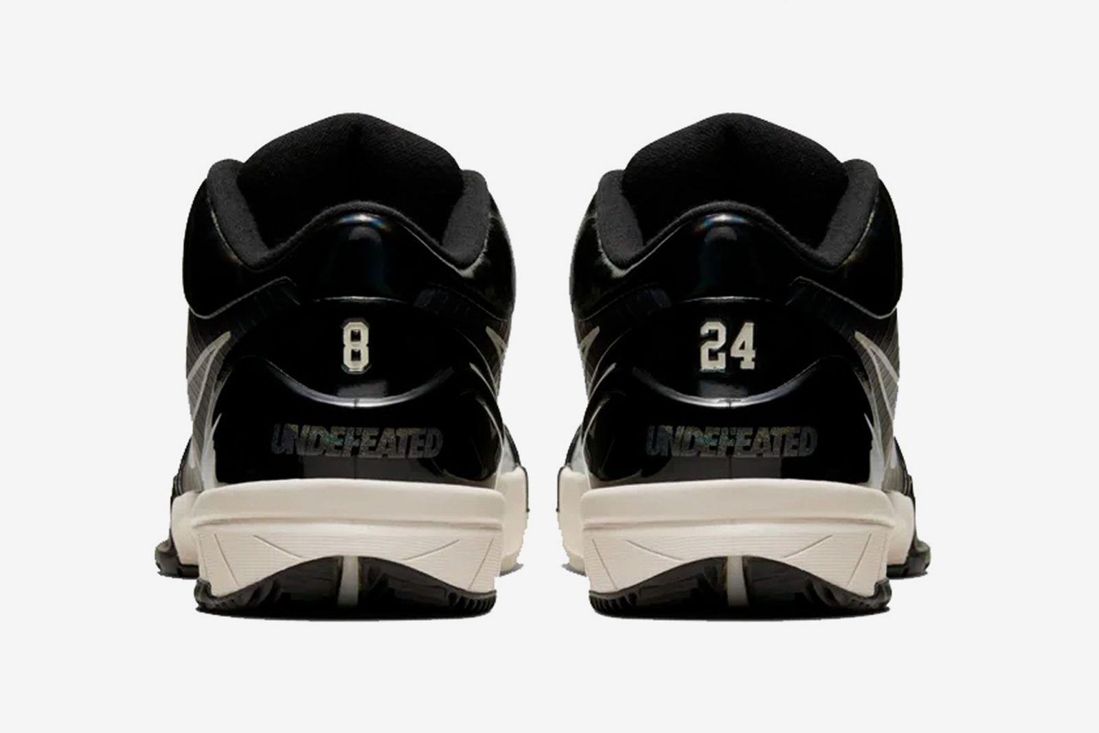 undefeated nike kobe 4 protro black mamba release date price Kobe Bryant