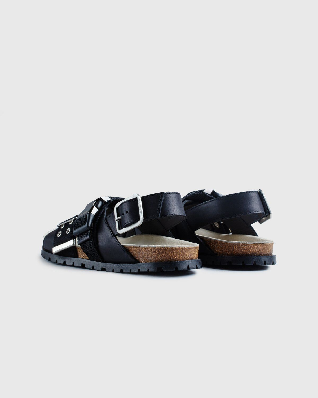 A.P.C. x Sacai — Sandals Black - Image 4