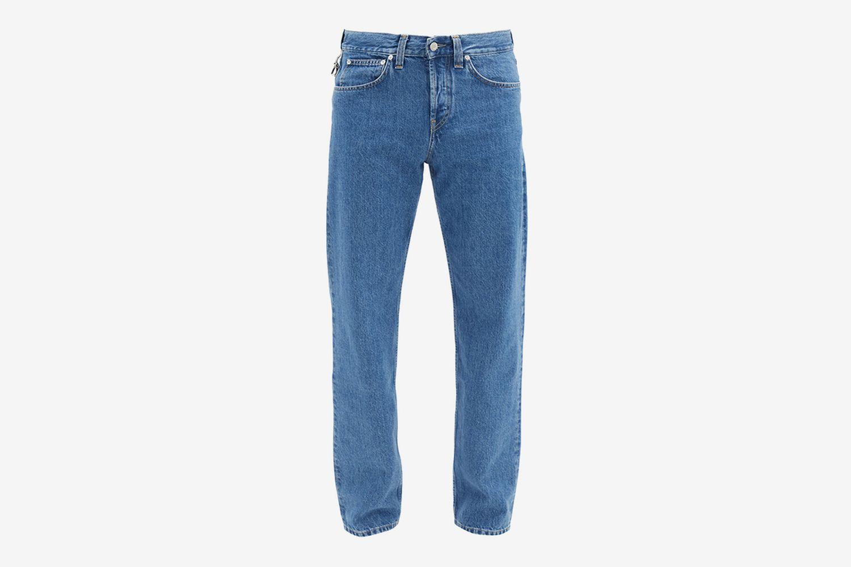 Masc Low-Rise Straight-Leg Jeans