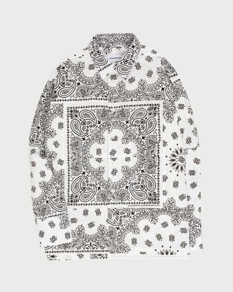 Miyagihidetaka — Bandana Shirt White