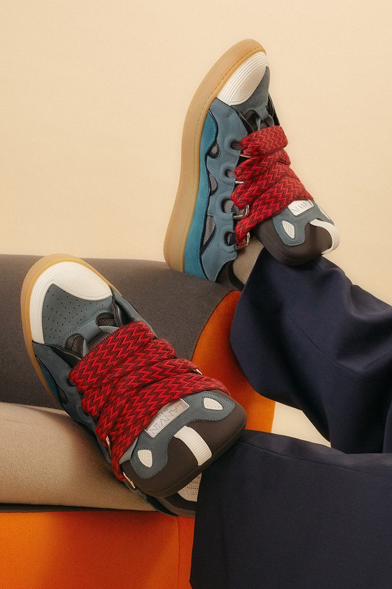 Lanvin's Curb Sneaker Wins the Award for Thickest Laces Ever 3