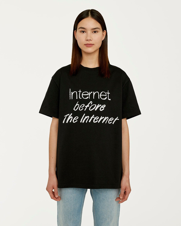 colette Mon Amour - The Internet Before The Internet T-Shirt Black - Image 4