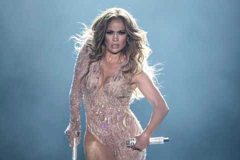 Jennifer Lopez performance