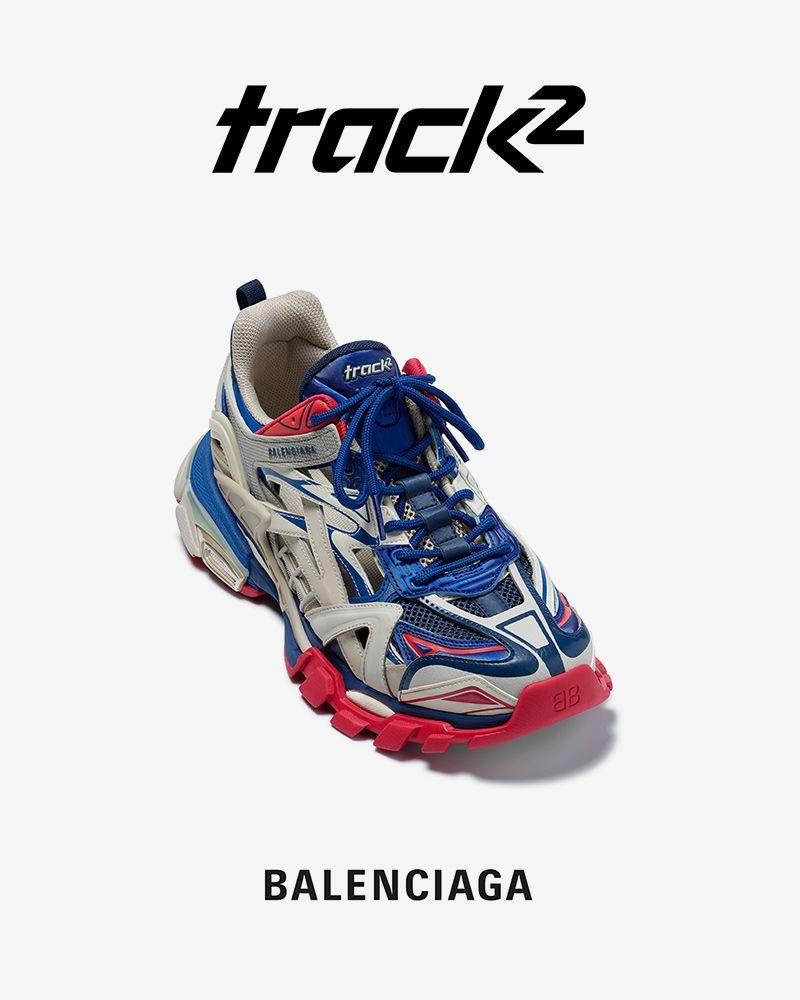Balenciaga Reveals Next-Gen Track 2 Sneaker With Mind-Boggling 176-Piece Upper