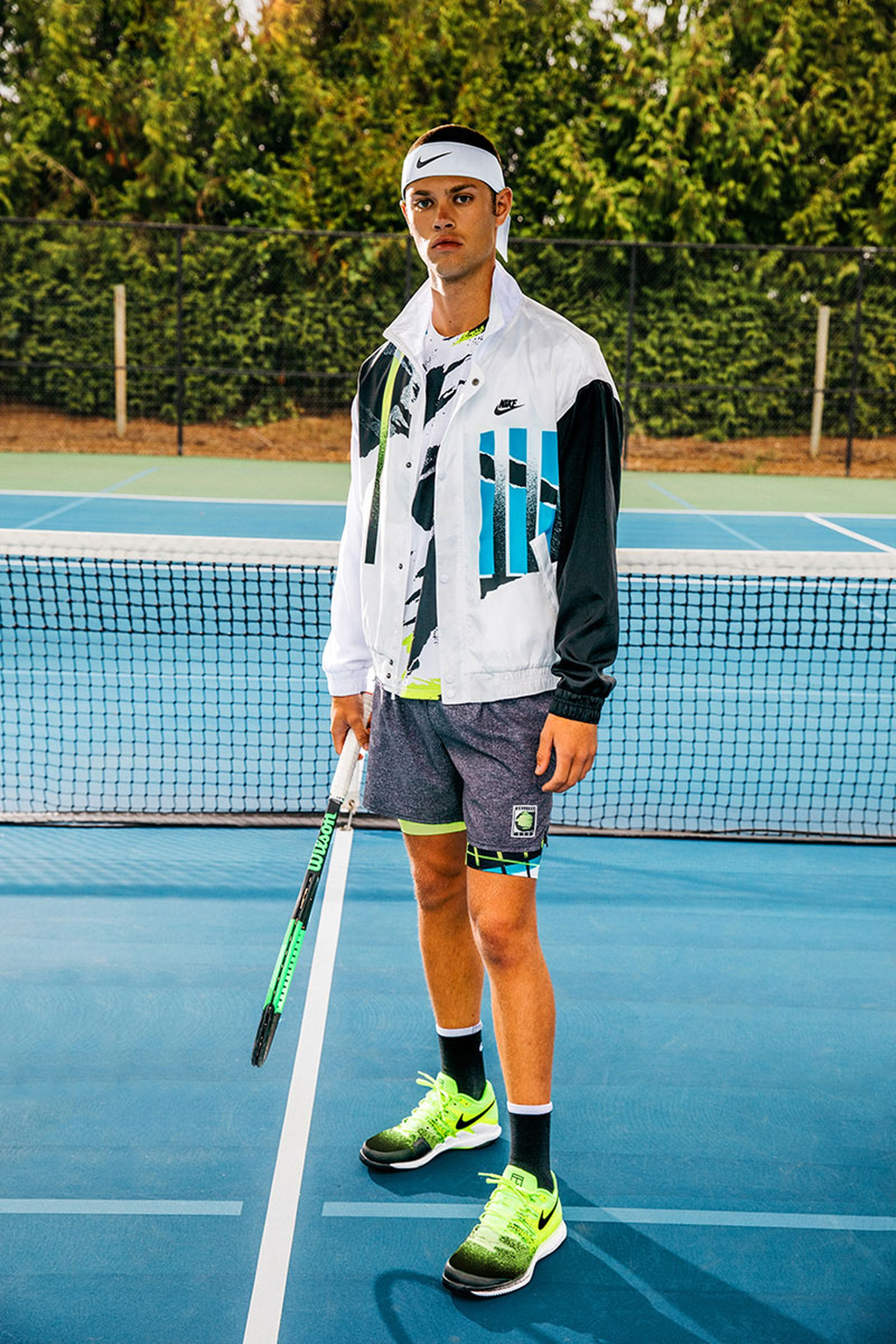 Nike S Challenge Court Collection Pays Homage To 90s Tennis