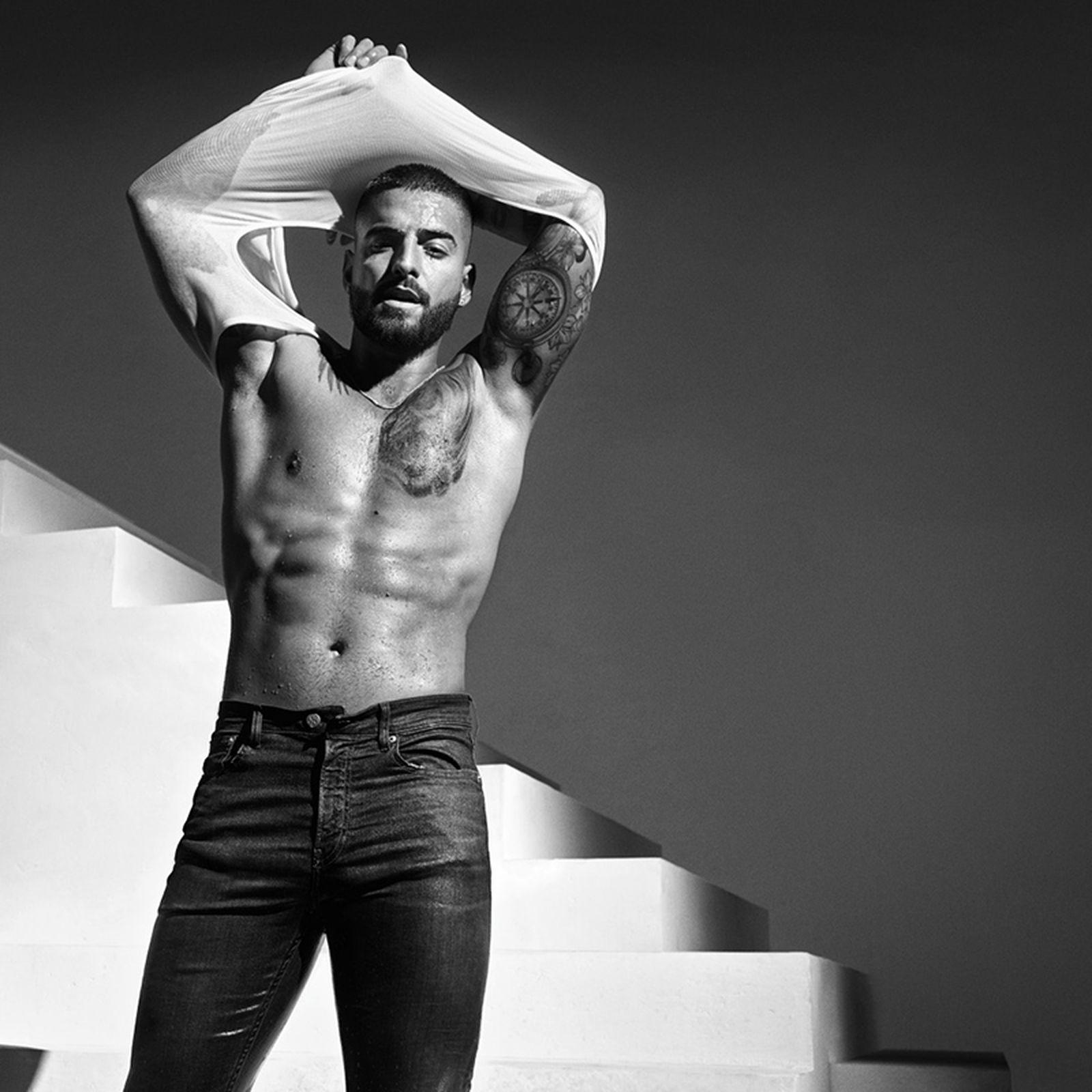 "Maluma Calvin Klein ""DEAL WITH IT"" Campaign"